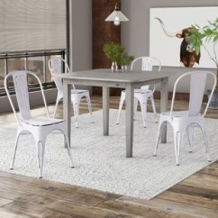 Set Of 4 Dining Chairs Chair Covers Home Depot Kitchen You Ll Love Wayfair Quickview