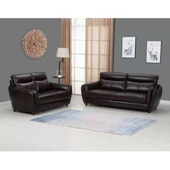 Set Of Leather Sofas Cheap L Shaped Sofa Philippines Full Grain Wayfair Ca Liberty Hill Top 2 Piece Living Room