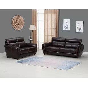 liberty sofa and motion loveseat large lounge chair top grain leather wayfair hill 2 piece living room set of