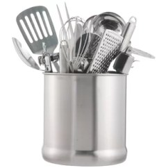 Carousel Kitchen Utensil Holder Soup Volunteer Northern Va Wayfair 7 Stainless Steel