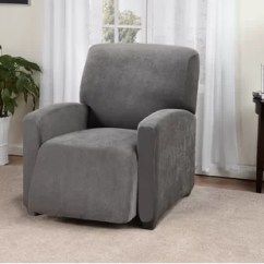 Recliner Chair Covers Grey Small Corner For Living Room Lazy Boy Slip Wayfair Quickview