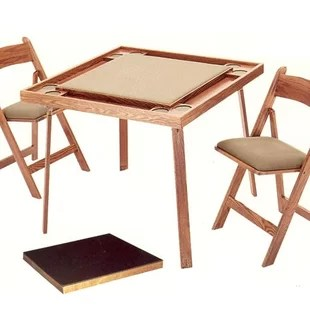folding card table and chairs wow fishing chair not working set wayfair by kestell furniture