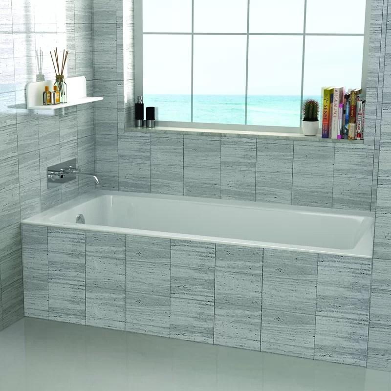 48 X 32 Drop In Soaking Bathtub Amp Reviews Joss Amp Main