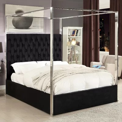 Canopy Queen Size Beds Youll Love Wayfair