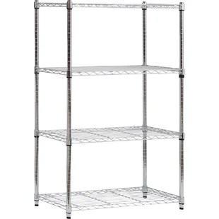 living room shelving unit modern pictures for units wayfair co uk 137cm heavy duty wire 4 shelf