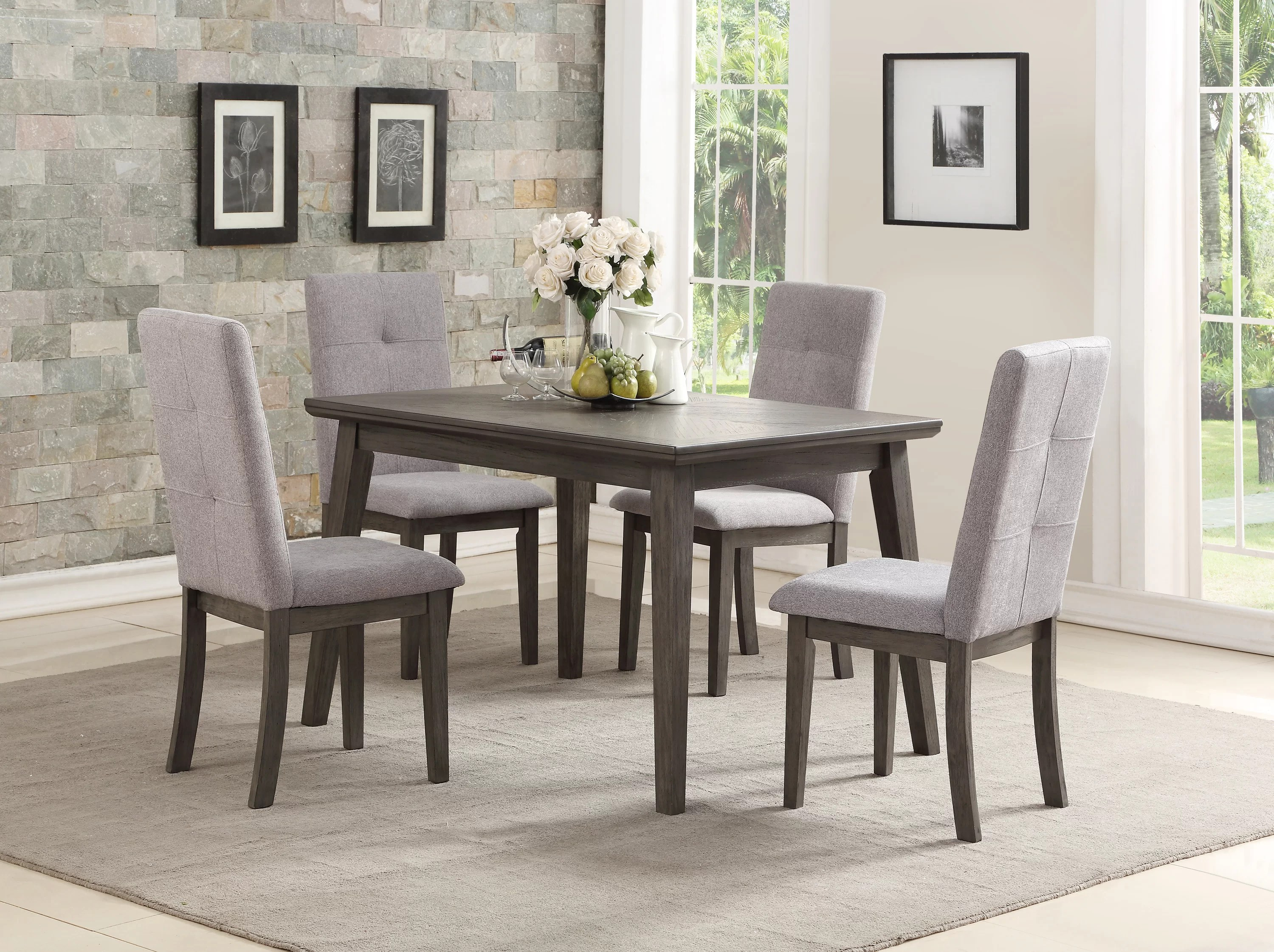 Dining Room Upholstered Chairs Graciela Upholstered Dining Chair