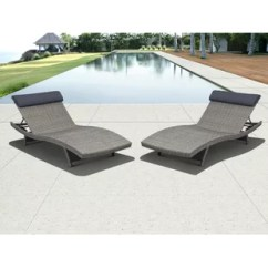 Poolside Lounge Chairs T Cushion Chair Slipcover Modern Contemporary Outdoor Pool Allmodern Quickview
