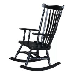 Black Rocking Chairs Reclining Patio And Table You Ll Love Wayfair Quickview