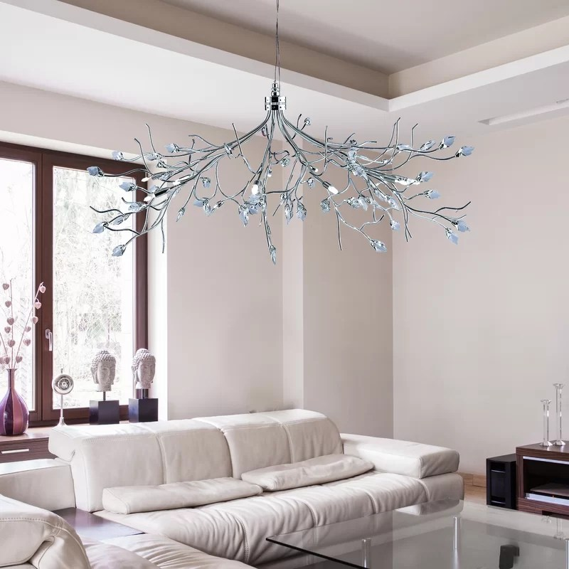 willow and hall sofa reviews italsofa club chair searchlight 10 light sputnik chandelier wayfair co uk