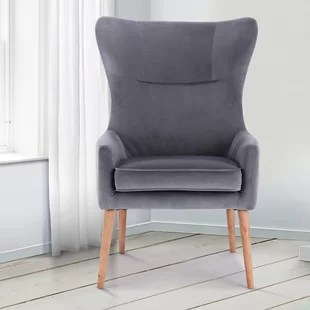 wingback chair uk high backed throne occasional chairs you ll love wayfair co daphne