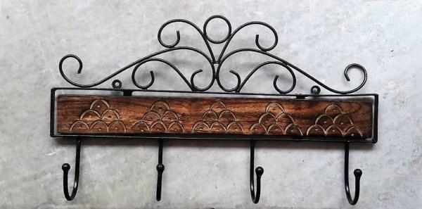 Wrought Iron Coat Racks Wall Mounted - Tradingbasis