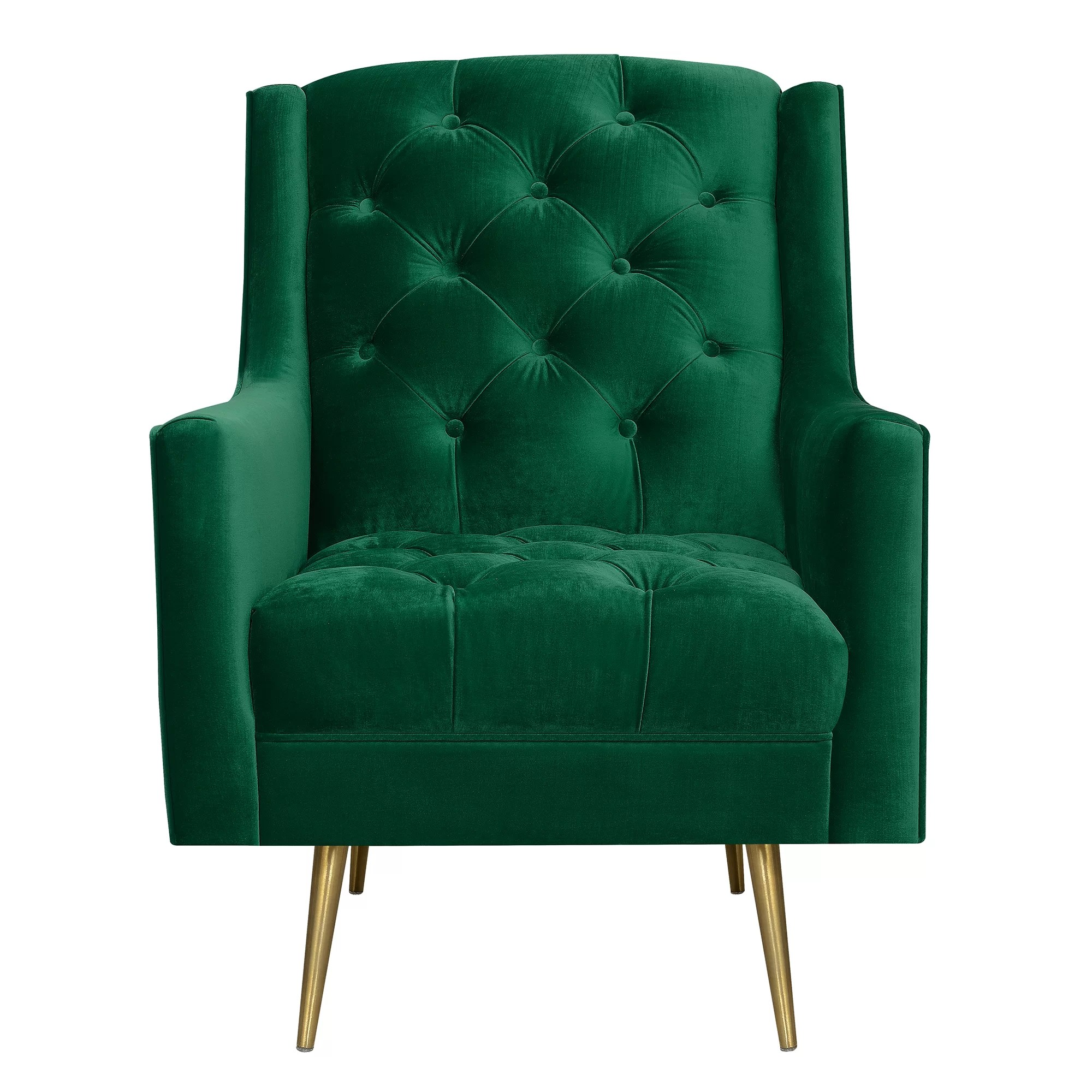 Wingback Tufted Chair Hubbard Wingback Chair