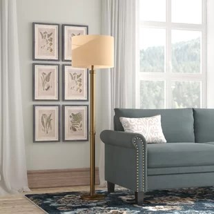 living room standing lamp rooms with grey sofas floor lamps you ll love wayfair quickview