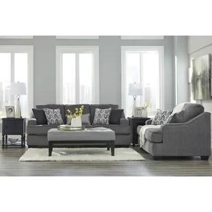 formal living room sofa floor mats couch wayfair nicholls sleeper set
