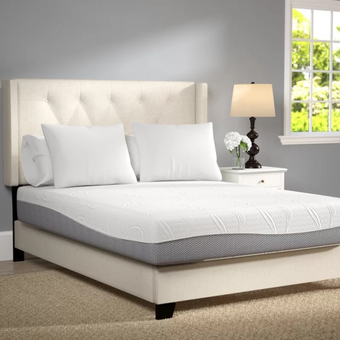 12 Firm Memory Foam Mattress