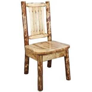 wood kitchen chairs cabinets tampa small wayfair tustin side chair