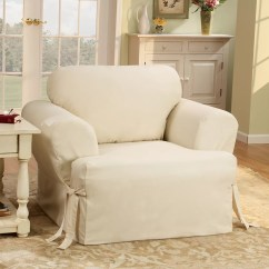 Chair Covers Couch High Singapore Cotton Duck Slipcover Wayfair Quickview