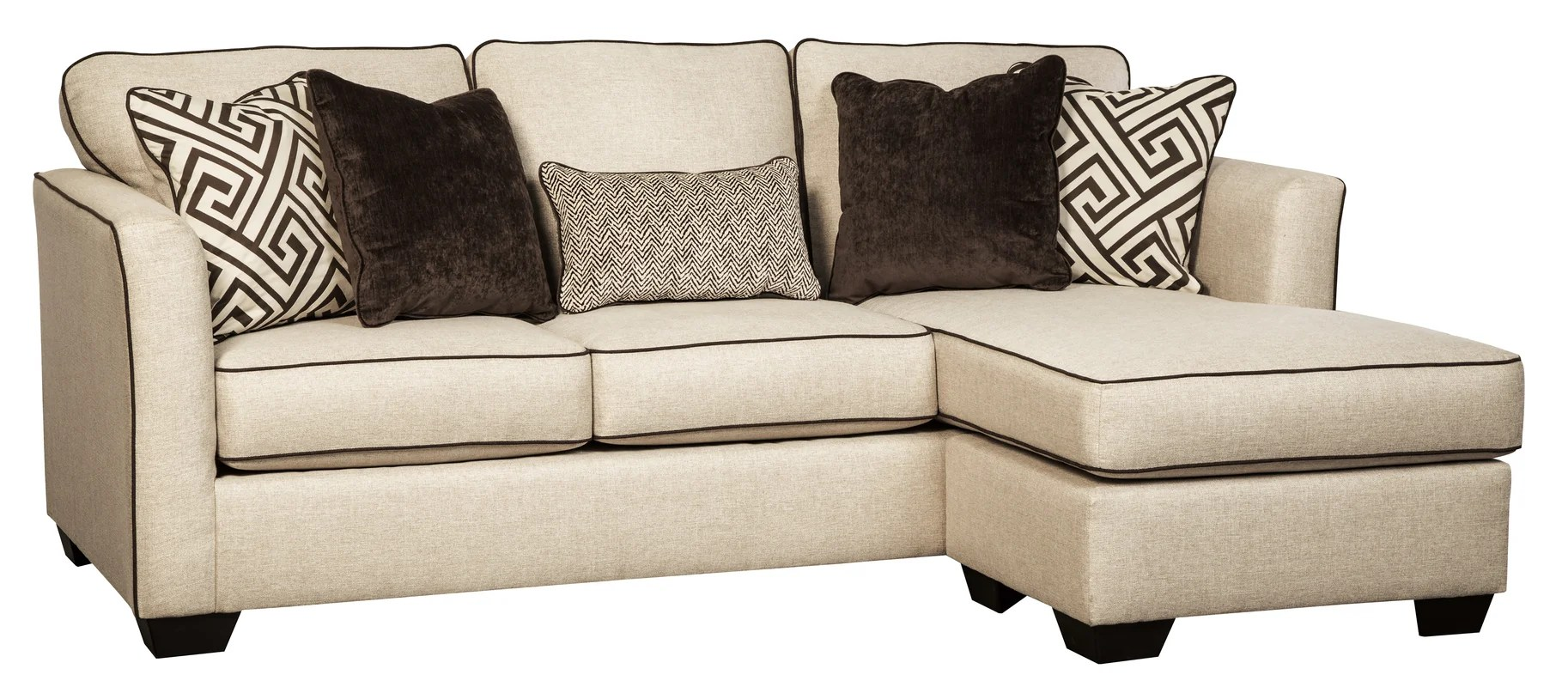 saucer chairs sam s club leather theater carlinworth sofa chaise and reviews birch lane
