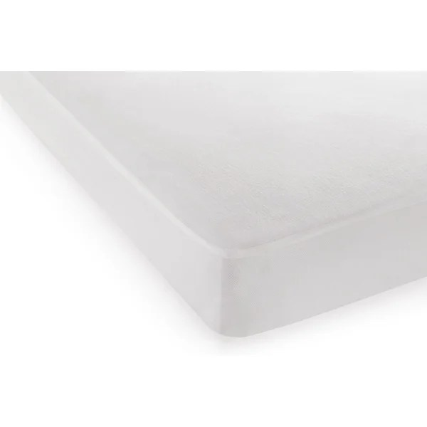 Dreamserene Tranquility And Breathable Crib Hypoallergenic Waterproof Mattress Protector Wayfair