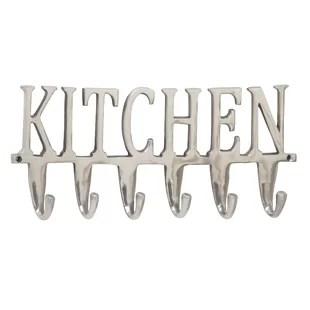 kitchen hooks refrigerators decorative wayfair wall hook
