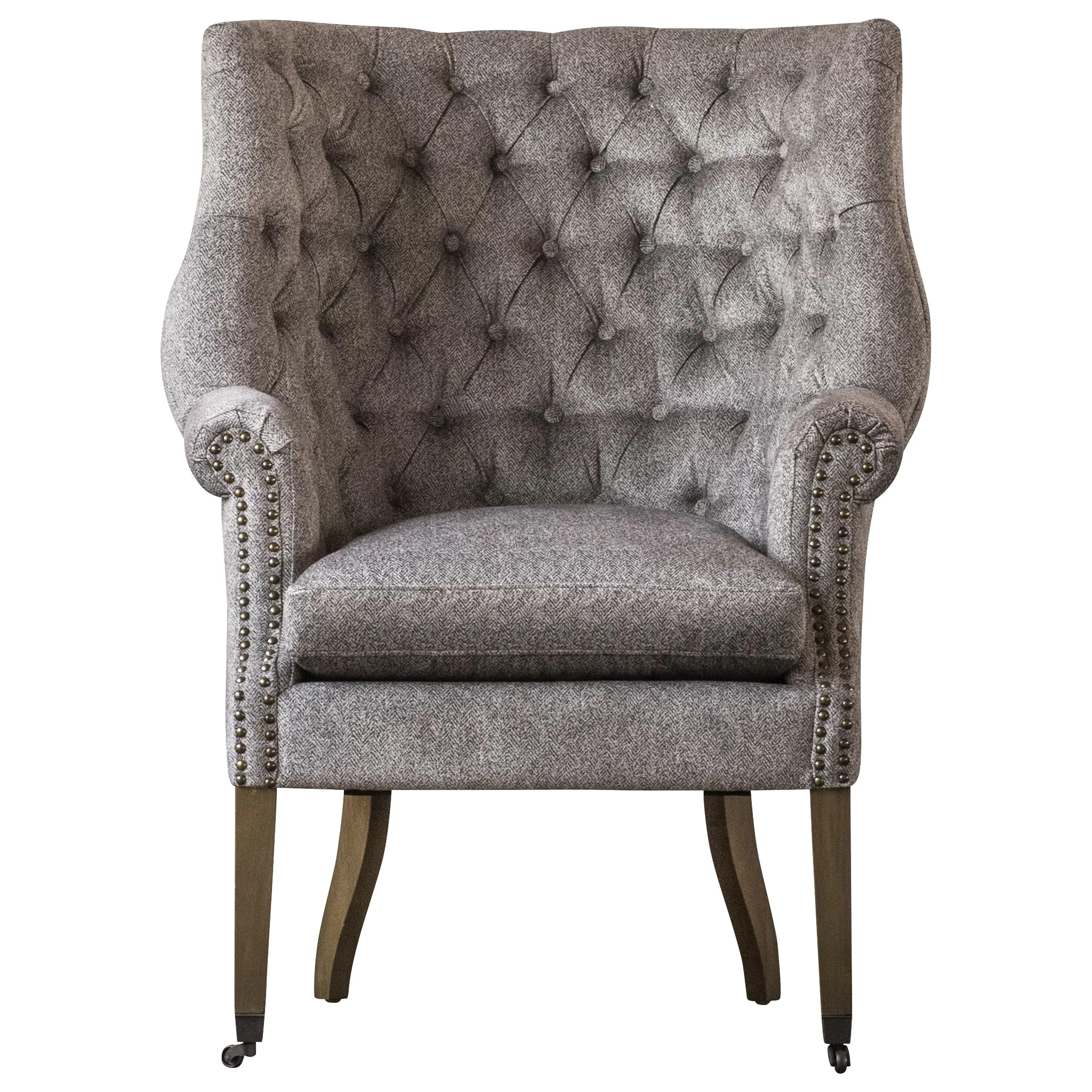 Wingback Tufted Chair Calla Tufted Wingback Chair
