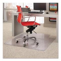 Desk Chair Mat For High Pile Carpet Faux Leather Covers Es Robbins Beveled Edge Wayfair