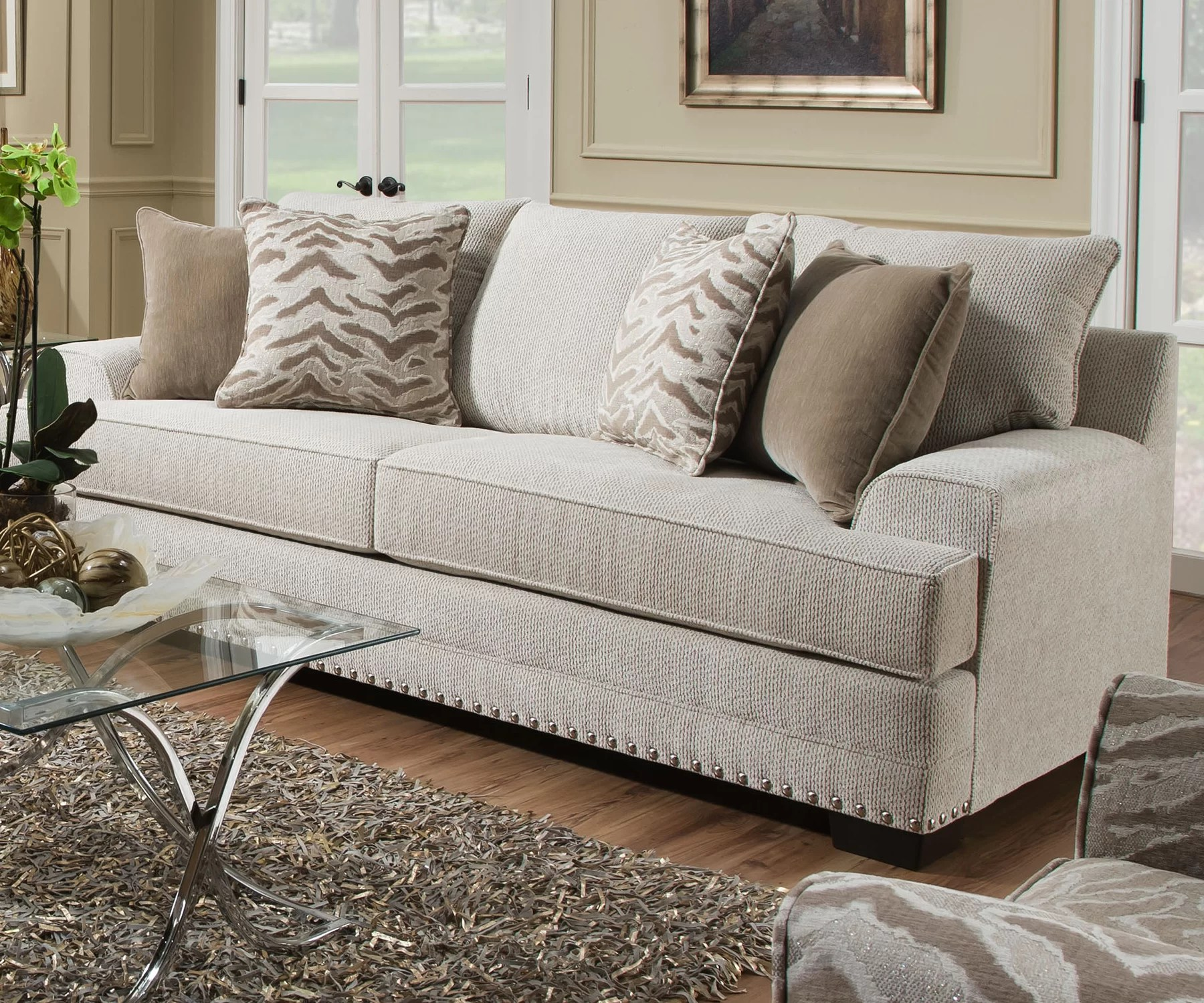 sofa frames for upholstery disco clic clac bed review surratt by simmons reviews joss main