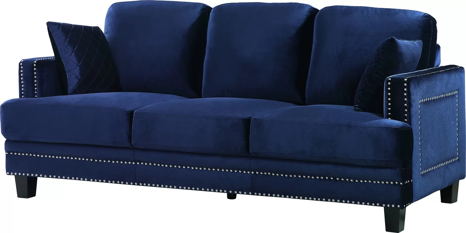 the dump sofa table small room sectionals nailhead diana luxe furniture