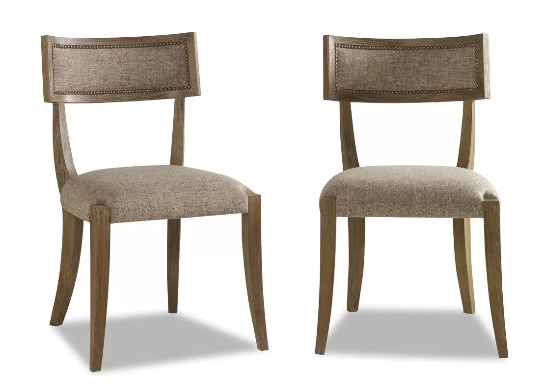 small scale upholstered dining chairs two chair table brownstone furniture atherton
