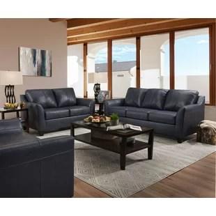 grey leather living room set home decor ideas sets you ll love wayfair basham configurable
