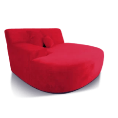 Red Lounge Chair High Chairs For Kitchen Island Chaise You Ll Love Wayfair Quickview