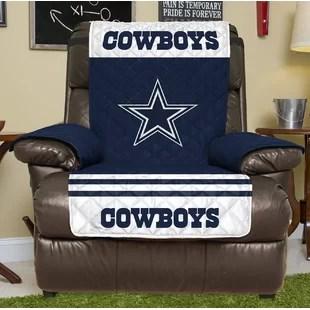 lazy boy chair covers nz kitchen chairs walmart recliner slip wayfair nfl slipcover