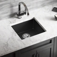 Square Kitchen Sink Polished Nickel Bridge Faucet Sinks You Ll Love Wayfair Quickview
