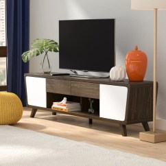Living Room Tv Stand Decorating Ideas With Brown Sectional 2 Langley Street Dormer Modern For Tvs Up To 70 Reviews Wayfair
