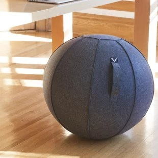 gym ball chair aqua blue plastic adirondack chairs frame wayfair search results for