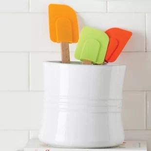 kitchen crock flooring trends find utensil crocks for your wayfair quickview