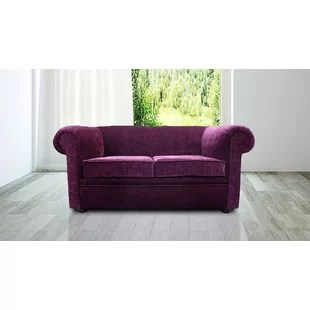 fabric chesterfield sofa bed uk craigslist atlanta sleeper sofas wayfair co gaines 2 seater