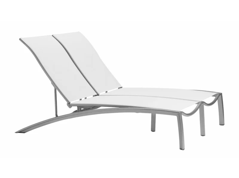 tropitone lounge chairs round kitchen tables and south beach double reclining chaise wayfair