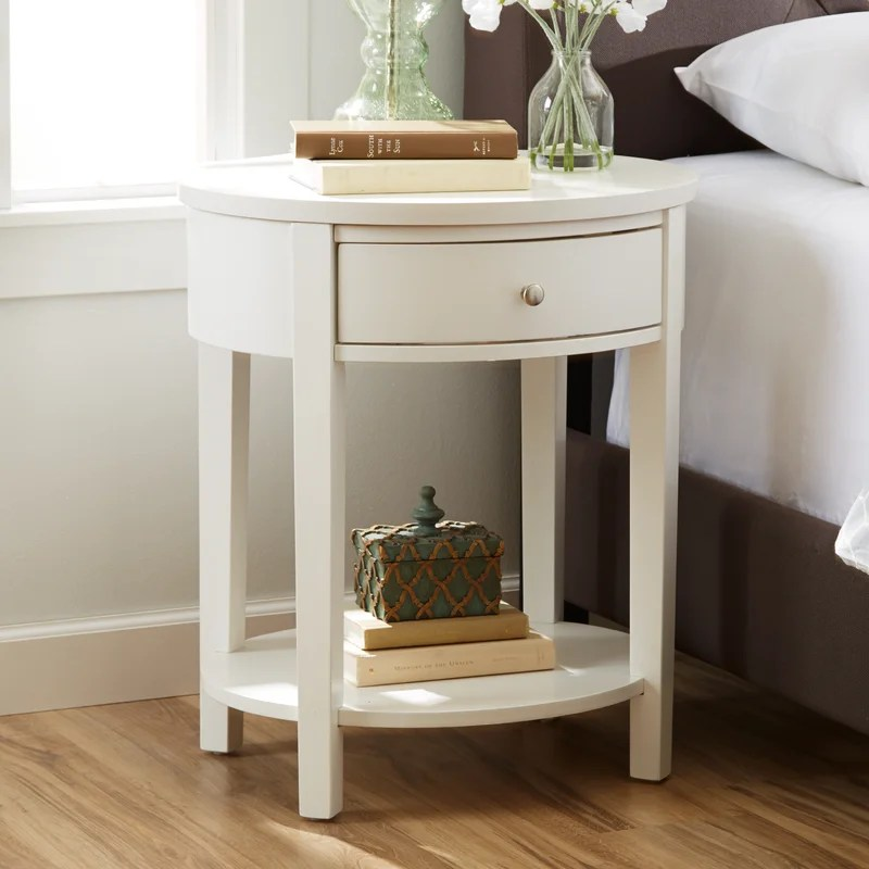 Three Posts Canterbury End Table with Storage  Reviews