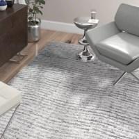 Wade Logan Bismark Grey Area Rug & Reviews