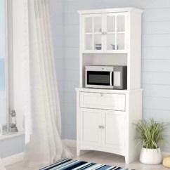 Kitchen Pantry Closet Appliance Storage Food Cabinets Wayfair Swanscombe 70