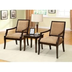 3 Piece Table And Chair Set Office Chairs Nj Accent Wayfair Castrejon Solid Wood Dining