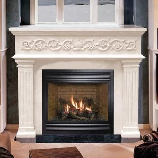 Surround Fireplace Mantels You'll Love