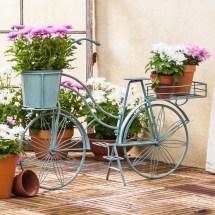 Evergreen Enterprises Metal Bicycle Planter &