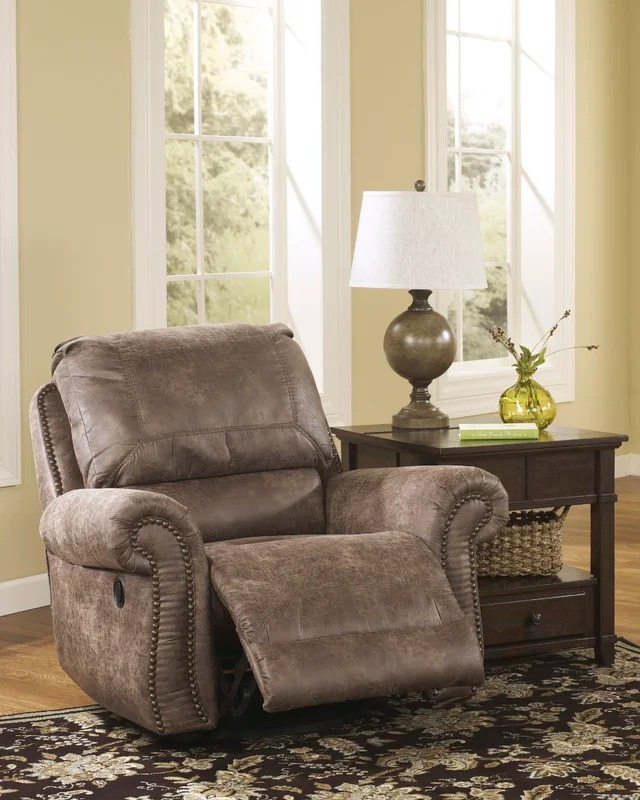 Signature Design By Ashley Evansville Manual Swivel Glider
