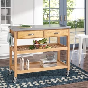 Stainless Steel Kitchen Islands & Carts You'll Love Wayfair
