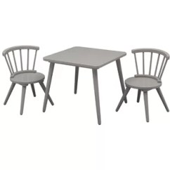 Plastic Kids Table And Chairs Retro Lounge Modern Chair Sets Allmodern Quickview