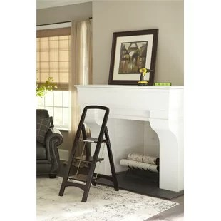 kitchen ladder large round table sets step wayfair quickview