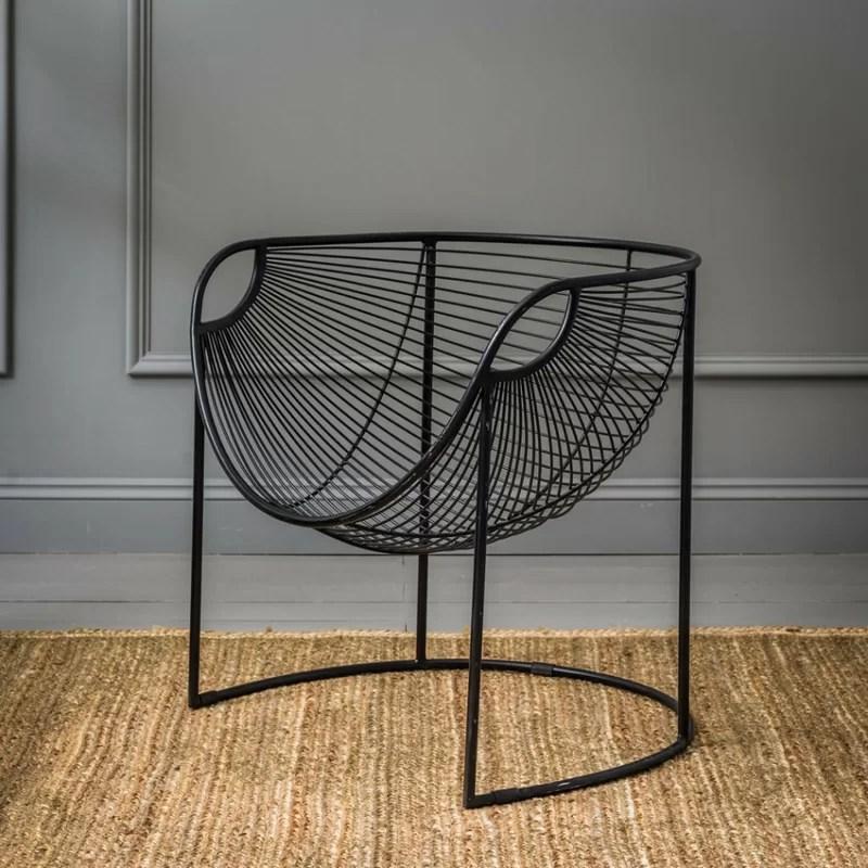 metal papasan chair rocking with cushions and ottoman new york reviews joss main