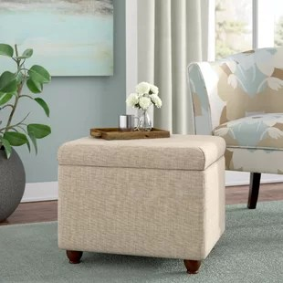ottoman coffee tables living room toy storage ideas for small ottomans birch lane quickview